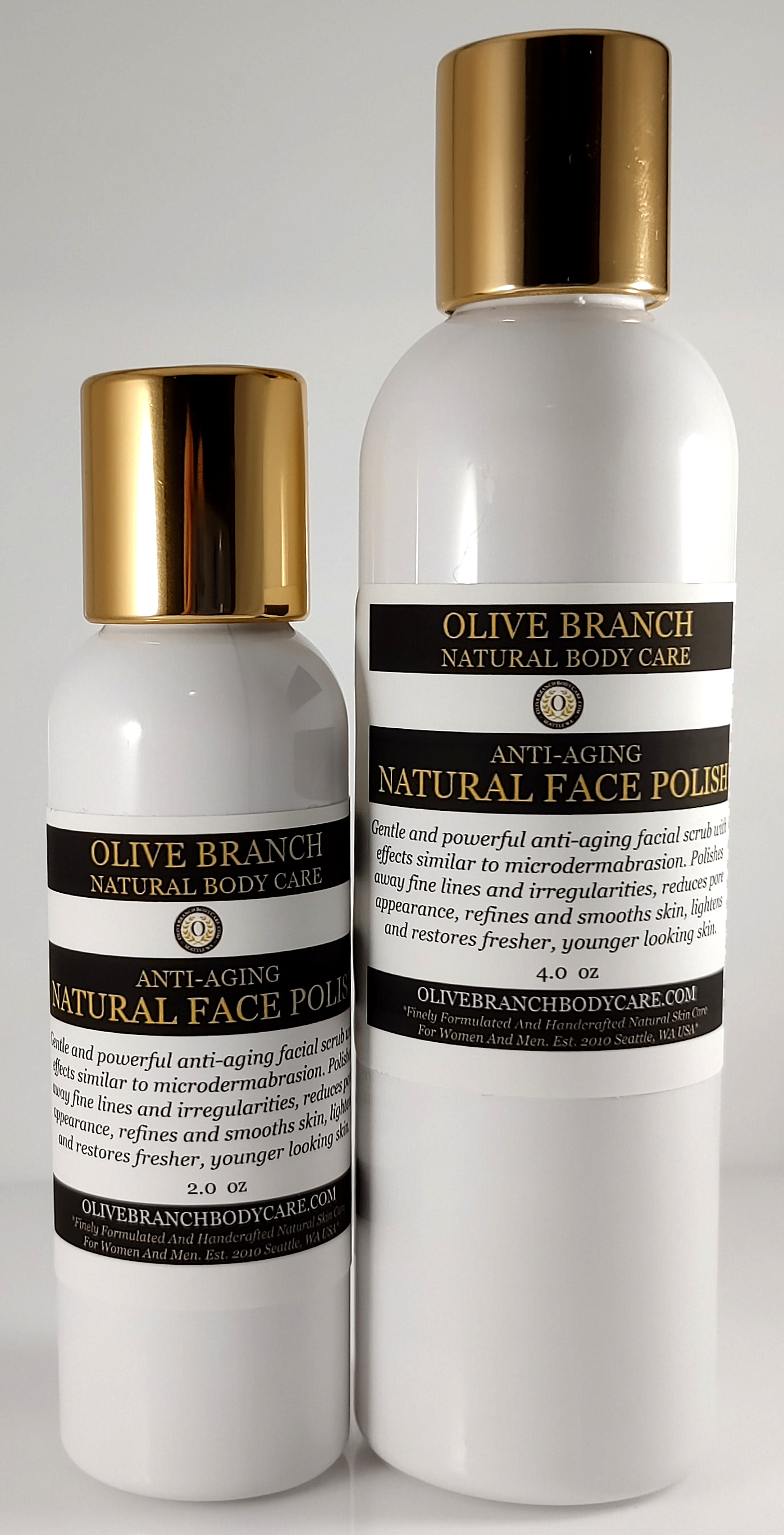 olivebranchbodycare.com - Finely Handcrafted Natural Skin Care: Anti-Aging  Natural Face Polish *Newly Enhanced*